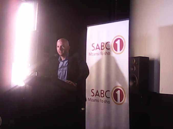 CEO of Gravel Road Entertainment Group at the press launch of the Mayibuye Film Festival in Johannesburg