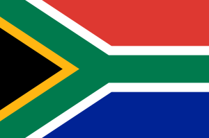 South African Flag 2015